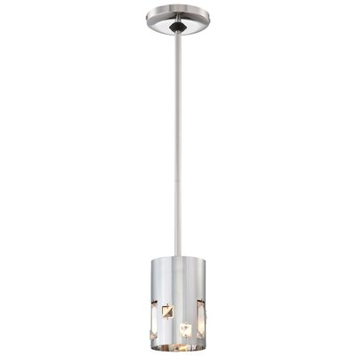 Bling Bang 1-Light Mini Pendant Finish: Chrome