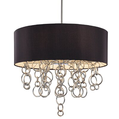 Ringlets 8-Light Drum Pendant