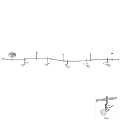 LED Accent Ceiling Light Finish: Silver