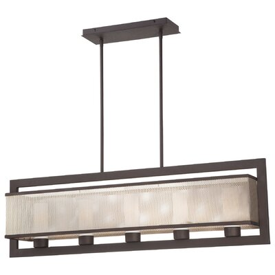 Mainly Mesh 5-Light Kitchen Island Pendant