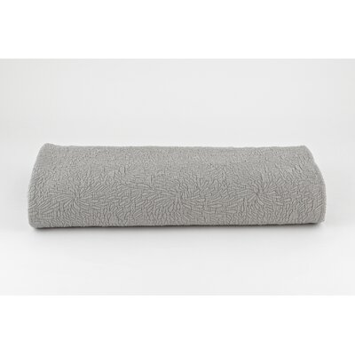 Couture Coverlet Size: Full / Queen, Color: Gray