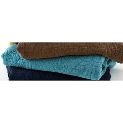 Suzi Coverlet Size: King, Color: Teal