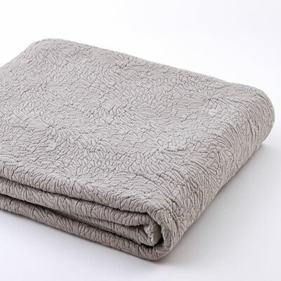 Couture Sham Size: King, Color: Dove Gray