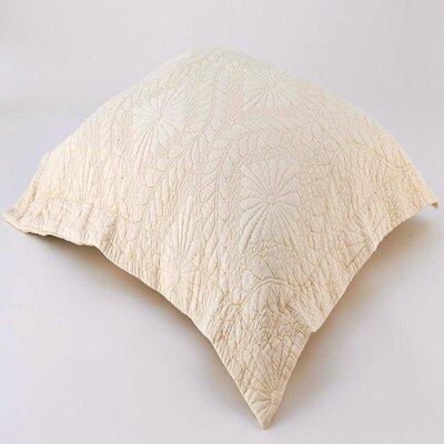 Suzi Sham Size: Standard, Color: Vanilla