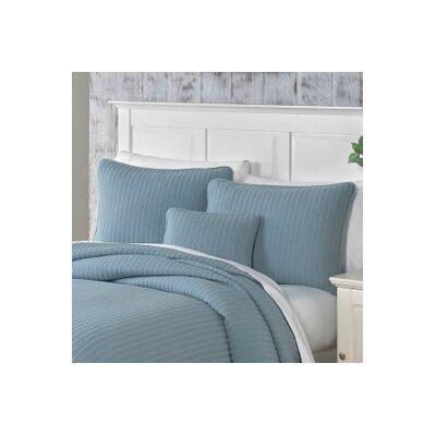 Clare Sham Color: Slate Blue, Size: Boudoir