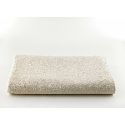 Couture Coverlet Size: Twin, Color: Cream