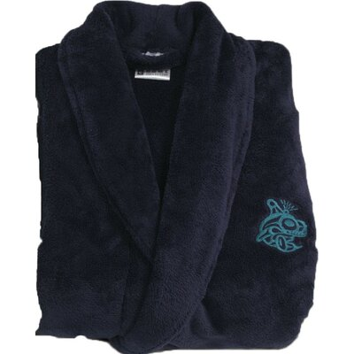 Turkish Bath Robe Color: Midnight