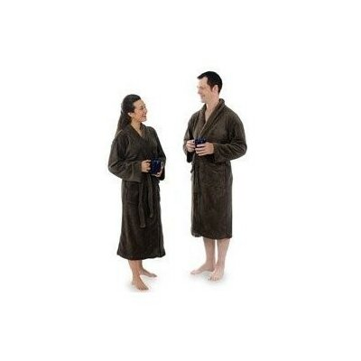 Turkish Bath Robe Color: Chocolate