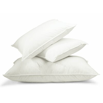 300 Thread Count Three Chamber Down Pillow Size: Queen