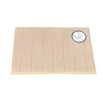 Microfiber Absorbing Bath Mat Color: Tan
