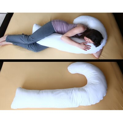 J Full Hypoallergenic Synthetic Filler Fiber Pillow
