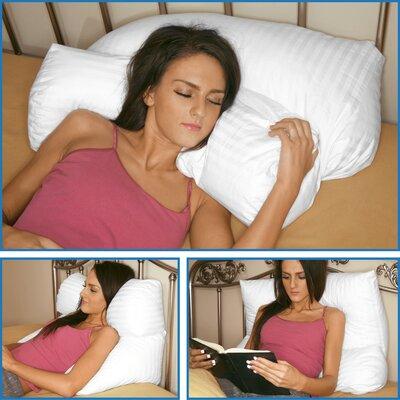 Multi Position Fiber Standard Pillow