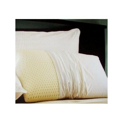 Dream Latex Foam Pillow Size: Standard