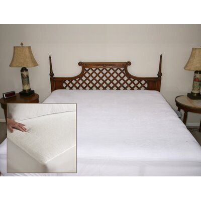 Deluxe Comfort Terry Waterproof Mattress Protector - Size: King at Sears.com