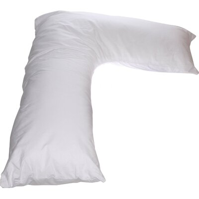 V Side Boomerang Sleeper Cotton Standard Pillow Cover