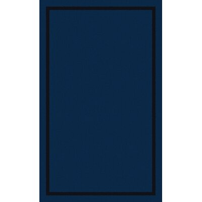 Henley Blue Area Rug Rug Size: Rectangle 3 x 5