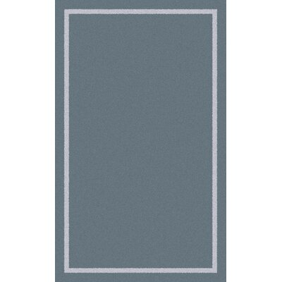 Henley Knotted/Tufted Wool Gray Area Rug Rug Size: Rectangle 5 x 8