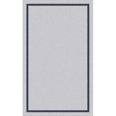 Henley Silver Area Rug Rug Size: 5 x 8