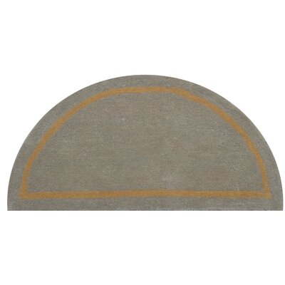 Henley Camel Area Rug Rug Size: Half Round 110 x 38