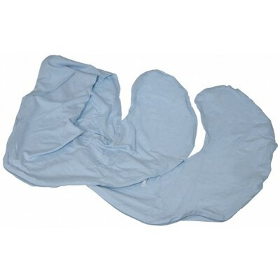 Comfort Body Pillow Cover Color: Blue