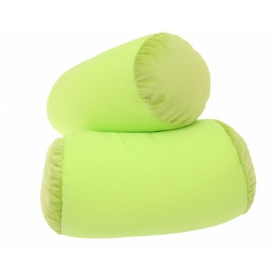 Microbead Neck Roll Bolster Pillow Color: Green MBR-006-06