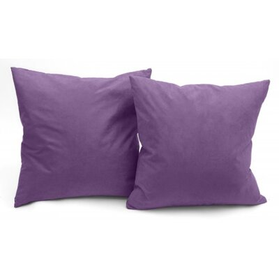 Christoph Microsuede Couch Throw Pillow Color: Light Purple