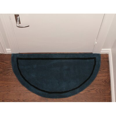 Henley Striped Border Doormat Color: Blue