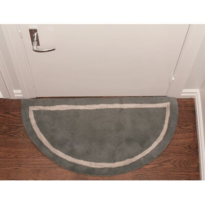 Henley Striped Border Doormat Color: Grey