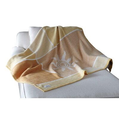 Biederlack Borbo Avant-Gardening Sunburst Throw Color: Morning Sunburst