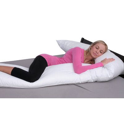 Extra Long Straight Down Alternative Body Pillow