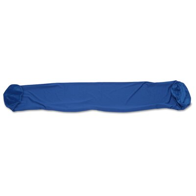 Siegrist Solid Soft Microbead Body Pillow Case Color: Dark Blue