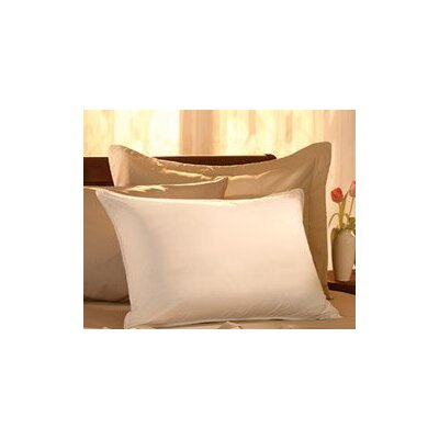 Egyptian-Quality Cotton Feather Standard Pillow