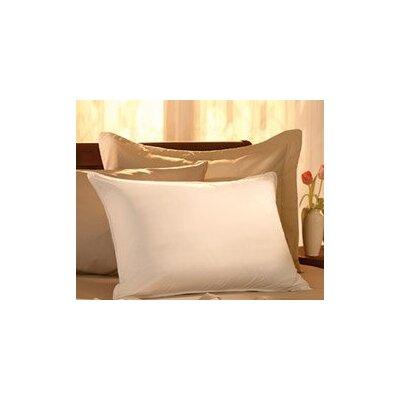 Egyptian-Quality Cotton Feather Standard Pillow