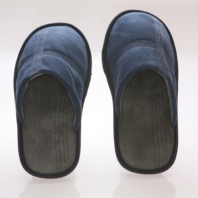 Deluxe Comfort Suede Polar Fleece Men's Slipper - Size: 11- 12 at Sears.com