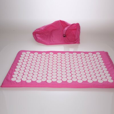 Acupuncture Mat with Bag Color: Pink