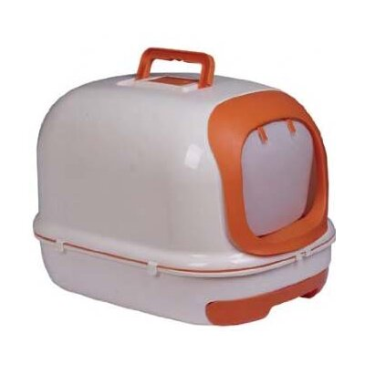 Deluxe Easy-Clean Covered Cat Litter Box