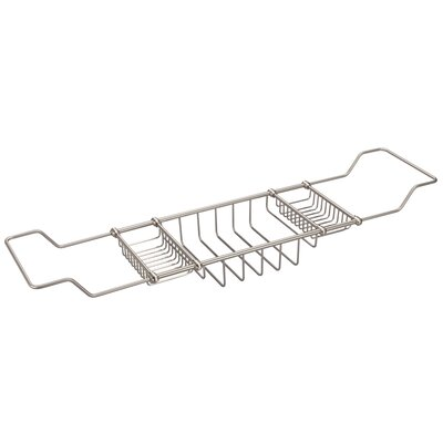 Water Creation BC-0001 Expandable Bath Caddy For The Elegant Tub - Finish: Brushed Nickel at Sears.com