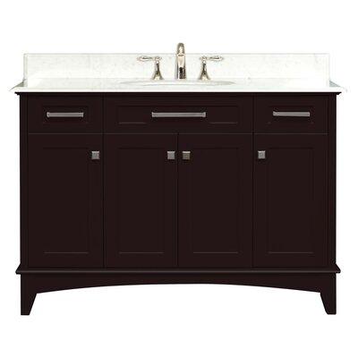 "Water Creation Manhattan 48"" Standard Vanity Set with Single Sink"