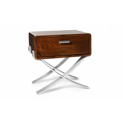 B-Line Nightstand Color: Walnut