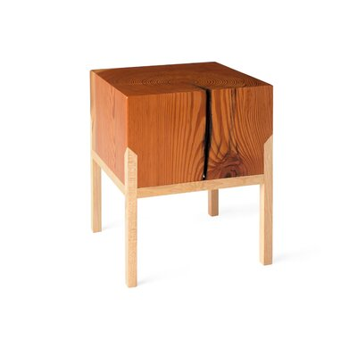 PW Stool Color: Body: Heart Pine / Legs: Hickory
