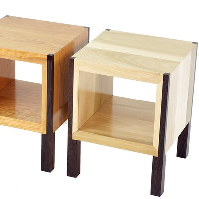 POP End Table Color: Body: Poplar / Legs: Wenge