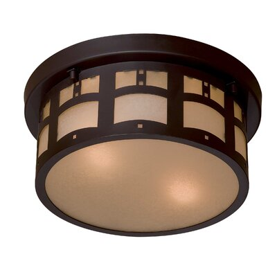 Harveston Manor 2-Light Flush Mount