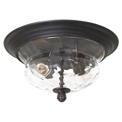 Porterfield 2-Light Flush Mount