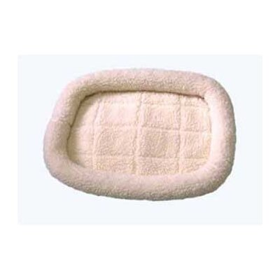 "DreamZone Fleece Donut Dog Bed Size: Small (24"" L x 19"" W)"