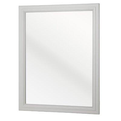 Auguste Bathroom Vanity Mirror Finish: White