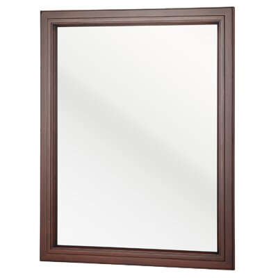 Auguste Bathroom Vanity Mirror Finish: Chestnut