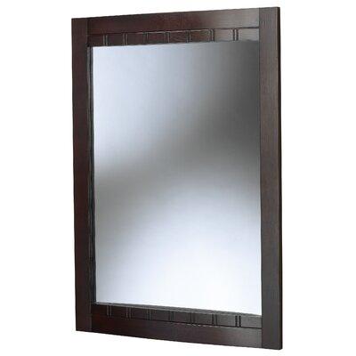 Buy Low Price Foremost Bellani Bathroom Mirror Finish Dark Cherry Wall Mirror Mart