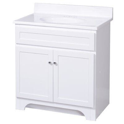 "Foremost Columbia 31"" Bath Vanity Combo - Finish: White at Sears.com"
