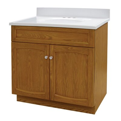 "Foremost Heartland 31"" Bath Vanity with Top - Finish: Genuine Oak at Sears.com"