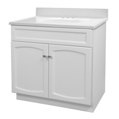 "Foremost Heartland 31"" Bath Vanity with Top - Finish: Premium White at Sears.com"